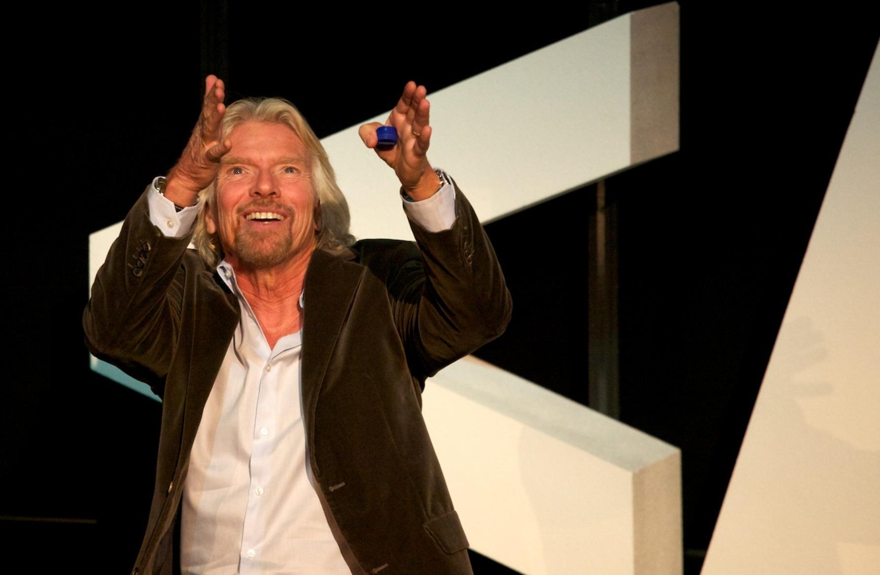 Richard Branson for Virgin Galactic
